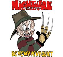 Nightmare on Elmer Street Photographic Print