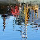Reflections I - Lakes Entrance by Alison Howson