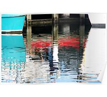 Reflections II - Lakes Entrance Poster