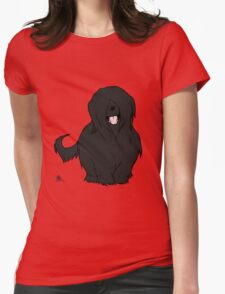 Black Briard - Yes, I have eyes Womens Fitted T-Shirt