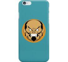 Angry Samurai | Orange Variation iPhone Case/Skin
