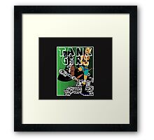 tankgirl6 YOU CHOOSE TANK COLOUR Framed Print