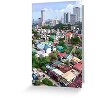 Manila Madness Greeting Card