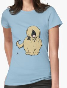 Briard - Yes, I have eyes Womens Fitted T-Shirt