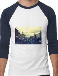 Inner City Suburb Men's Baseball ¾ T-Shirt
