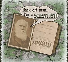 Popular Science: Charles Darwin 2 (distressed) by torg