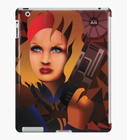 Lone Wanderer of the Wastes iPad Case/Skin