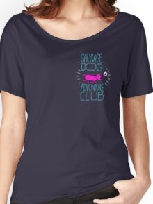 Sausage Dog Adventure Club Women's Relaxed Fit T-Shirt