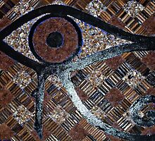 Eye of Horus - wall hanging by TJNicol