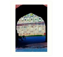 Gates of the Lahore Fort Art Print