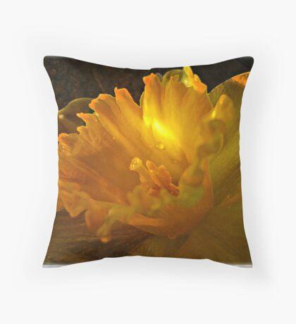 ~ Daffodil ~ Throw Pillow