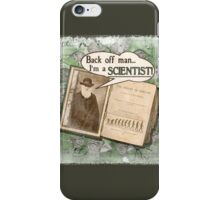 Popular Science: Charles Darwin (distressed) iPhone Case/Skin