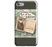 Popular Science: Charles Darwin (distressed) iPhone Case/Skin