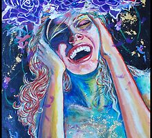 Original Acrylic Painting (Seventh Heaven) by Christina Martine