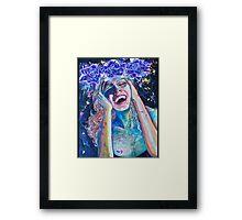 Original Acrylic Painting (Seventh Heaven) Framed Print
