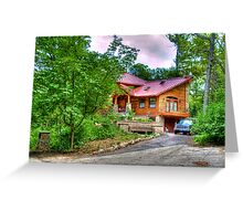A House in the Woods Greeting Card