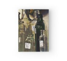 Vintage Bottles 1 Hardcover Journal