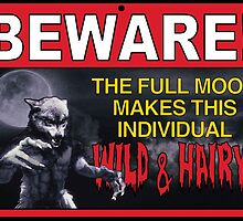 BEWARE!: The Full Moon Makes This Individual WILD & HAIRY! by torg