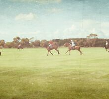 Polo Practice #1 by Tracy Edgar