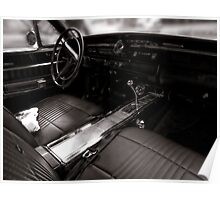 Dodge Coronet interior Poster