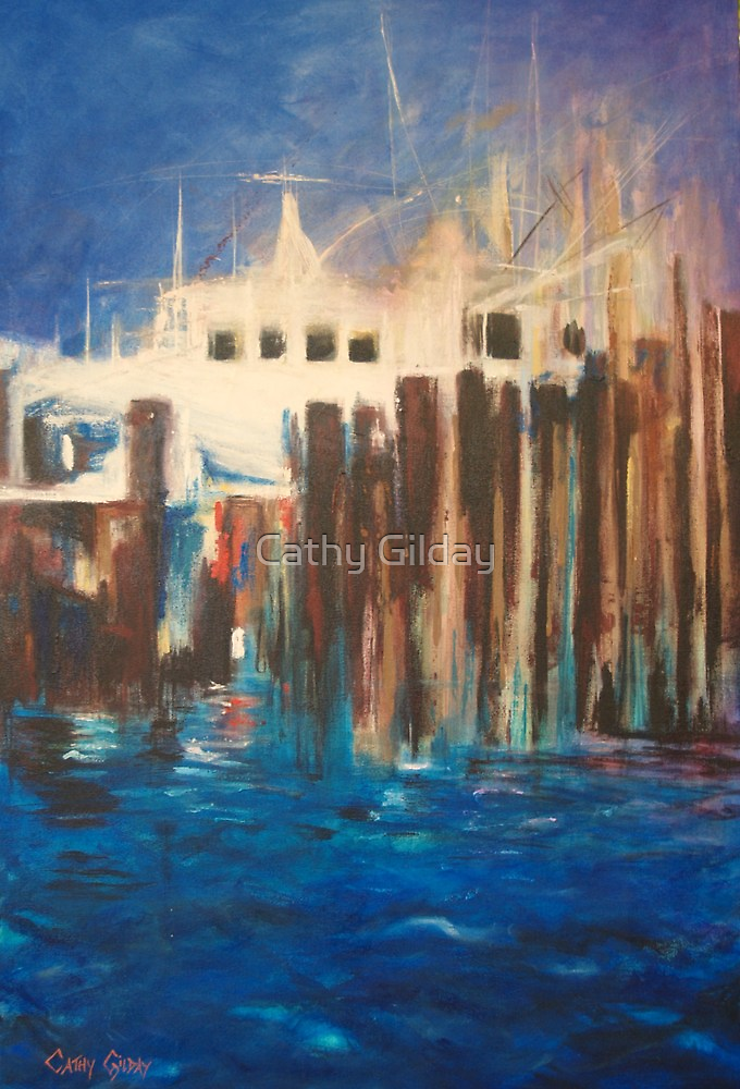 Dockside by Cathy Gilday