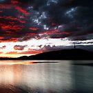 Sunset Fire by Peter Doré