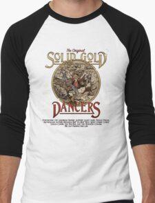 The Original Solid Gold Dancers Men's Baseball ¾ T-Shirt
