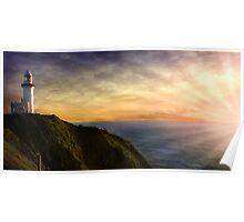 Byron Bay, Lighthouse Poster