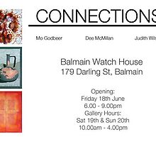 Exhibition at The Watch House, Balmain by mogodbeer