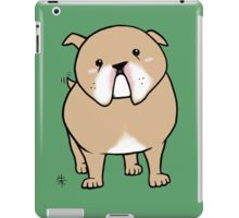 English Bulldog iPad Case/Skin