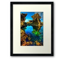 Morning at Sorrento Back Beach Framed Print