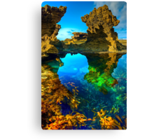 Morning at Sorrento Back Beach Canvas Print