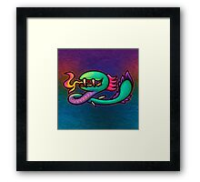 Earthbound Kraken Framed Print
