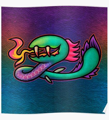 Earthbound Kraken Poster
