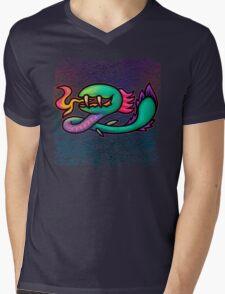 Earthbound Kraken Mens V-Neck T-Shirt