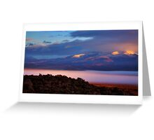 Palomino Valley Glow Fog Greeting Card