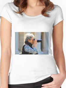 Zoom ZOOMED Women's Fitted Scoop T-Shirt