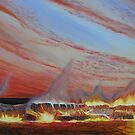 Desert Embers by Ken Tregoning