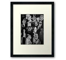 1920s - 1930s Horror Framed Print