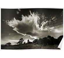 Midlands Cloudscape Poster