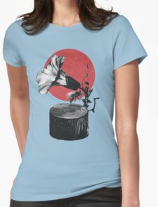 Gramophone Womens Fitted T-Shirt