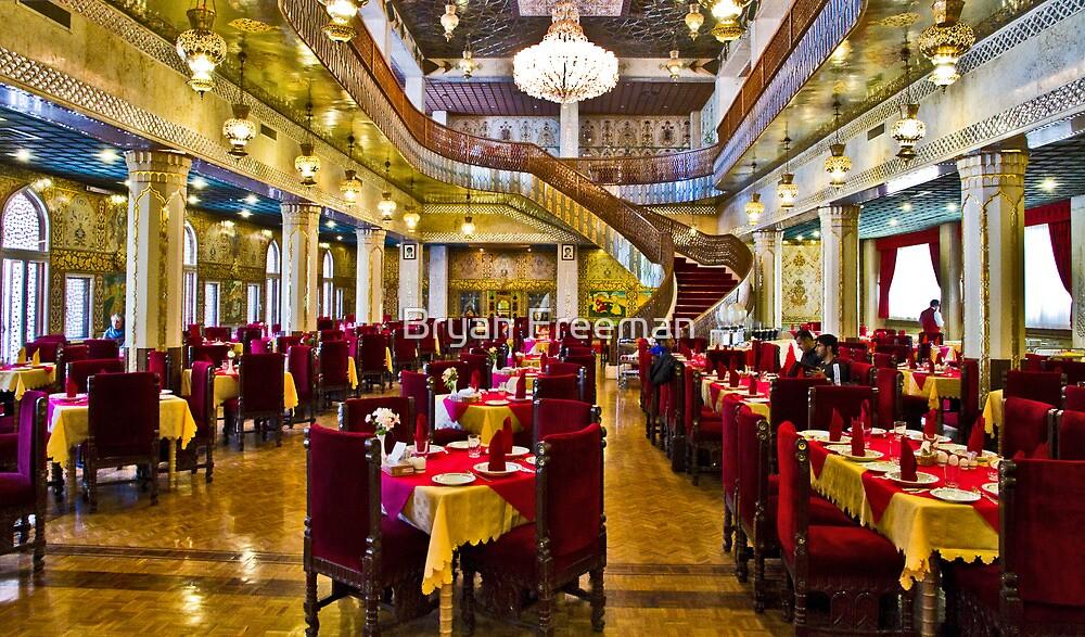 The Amazing Abbasi Hotel - Restaurant - Esfahan - Iran by Bryan Freeman