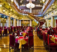 The Amazing Abbasi Hotel - Restaurant - Esfahan - Iran by Bryan Freeman