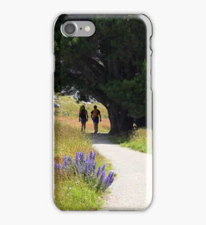 Walking To Castle Hill iPhone Case/Skin