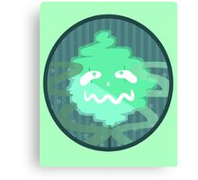 green ghost Canvas Print