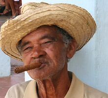 Cuban Man by Mike Gregory