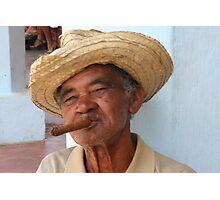 Cuban Man Photographic Print