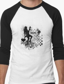 rock star Men's Baseball ¾ T-Shirt