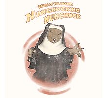 Nunchucking Nunchuck Photographic Print