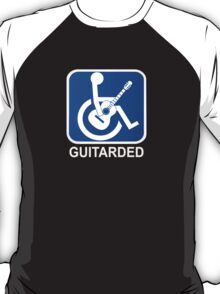 Guitarded Funny Guitar Design T-Shirt